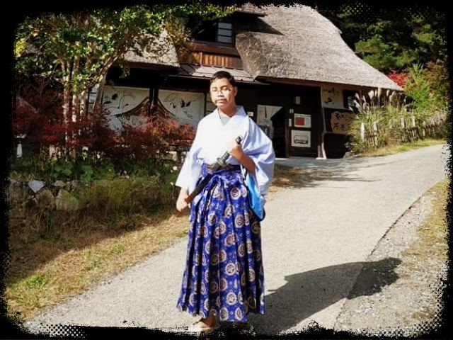 I am in Kimono