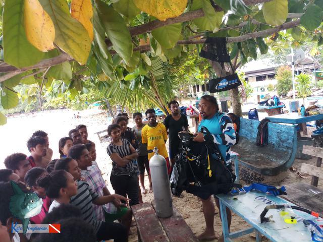 Pengenalan peralatan scuba