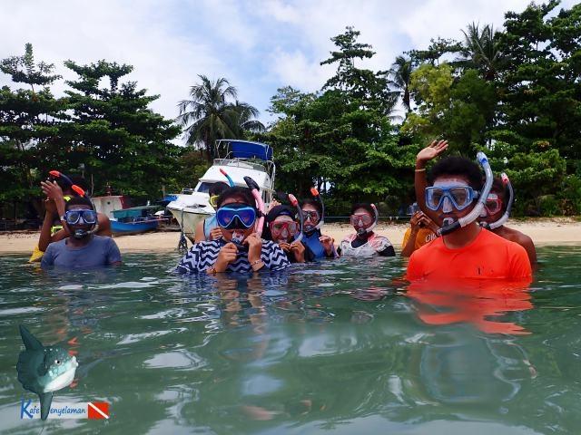 Persiapan Latihan Snorkeling