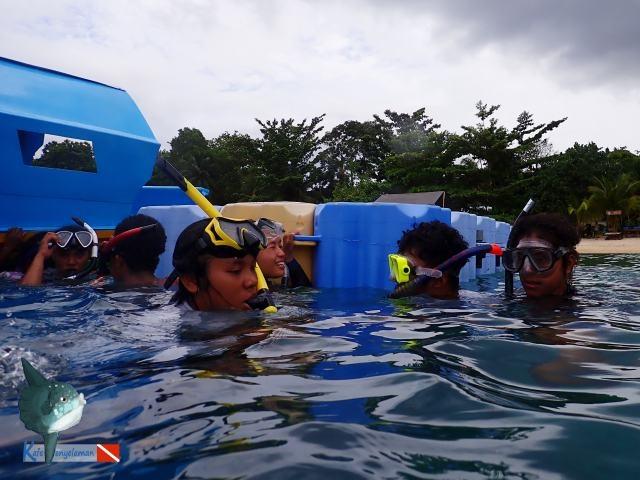 Latihan Duck Dive - Istirahat