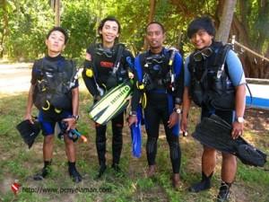 Jensy, Arief, Muhajir dan Derta