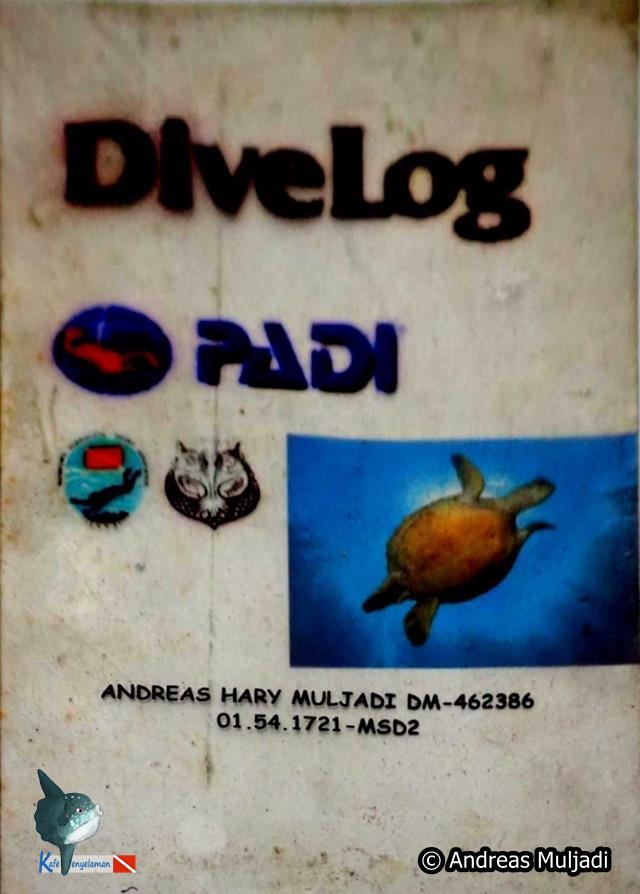 Buku Divelog Customized