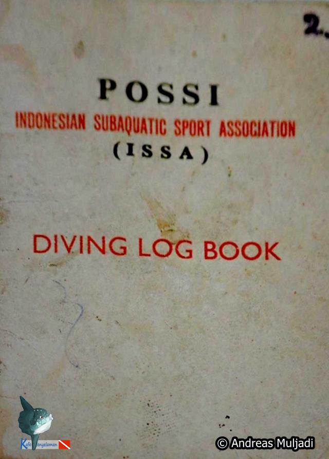 Buku Diving Logbook