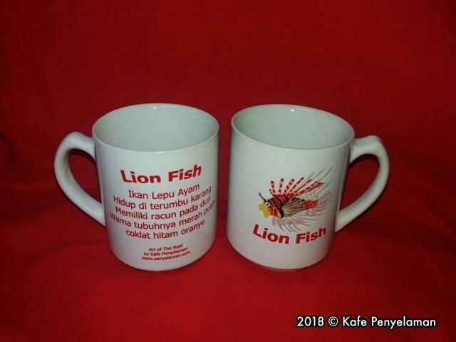 06 MUG LION FISH