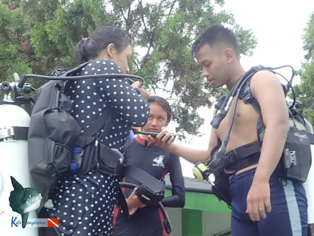 Pre-dive Safety Check ~ Buddy System