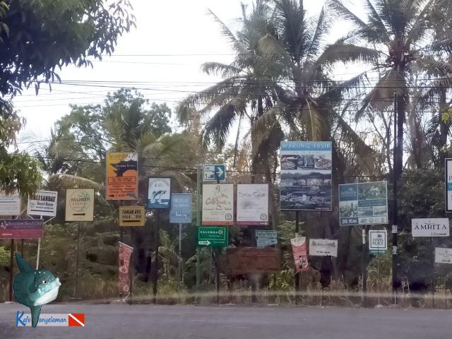 Billboard Pariwisata Bali