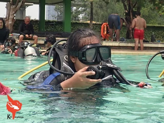Persiapan surface dive